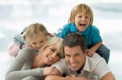 happy healthy family